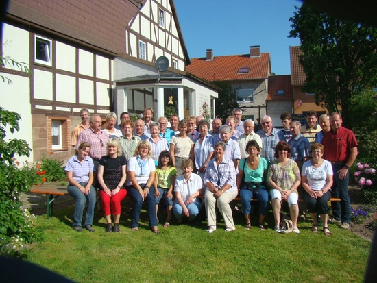 Teilnehmer Sommertagung 2011 in Krebeck